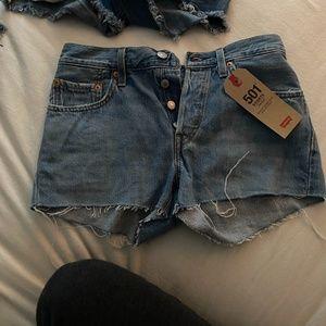 NEW Levis Shorts 501